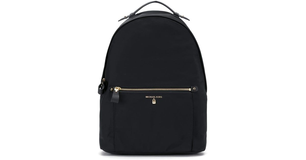 658d9d10c54f MICHAEL Michael Kors Kelsey Backpack in Black - Lyst