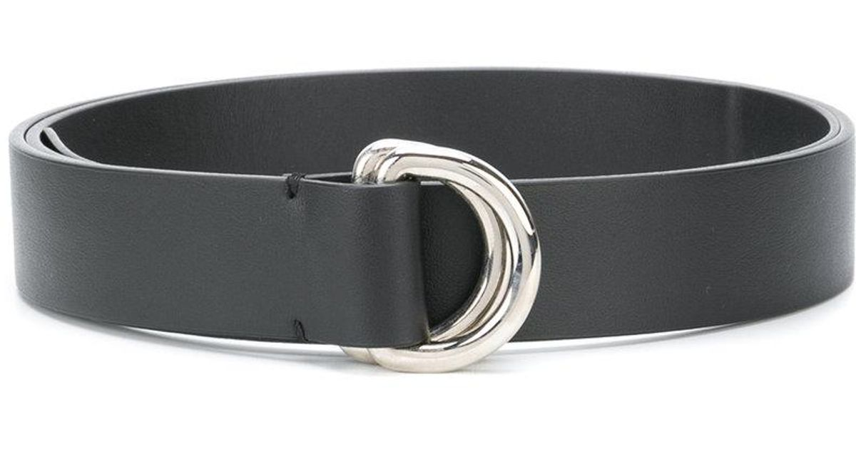 double buckle belt - Blue P.A.R.O.S.H. DwQnRY1Sd