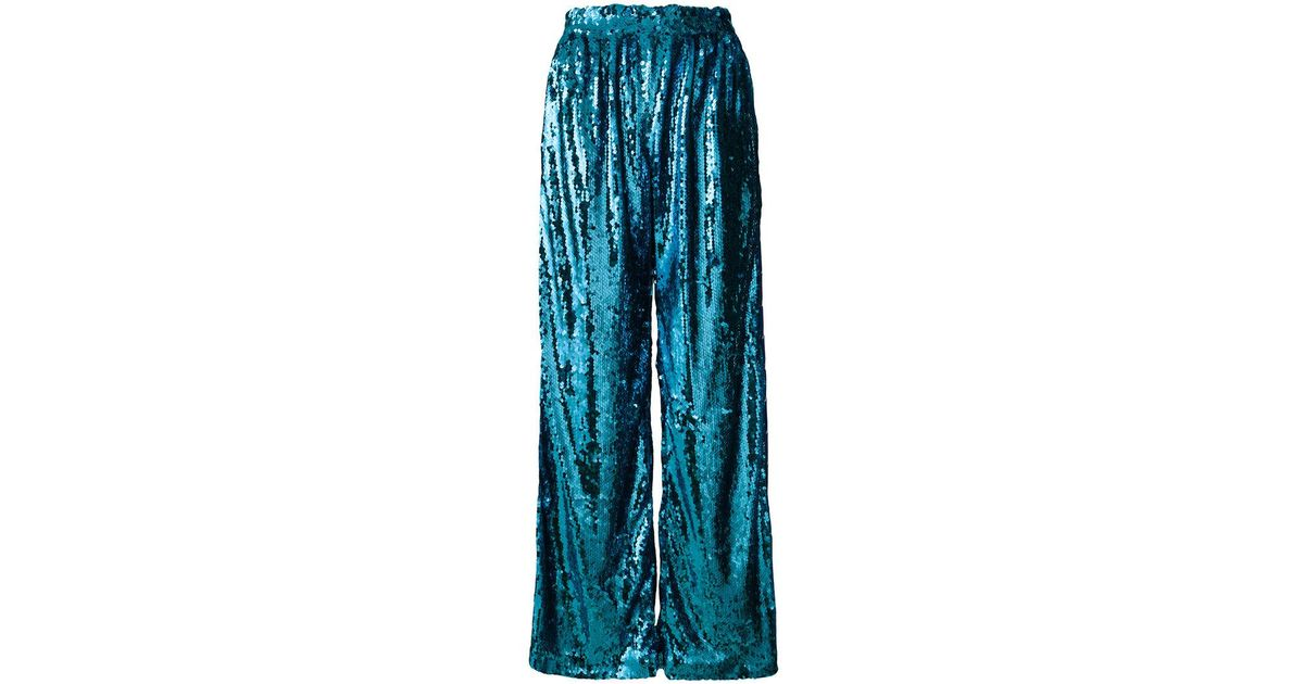 High Quality Sale Online Cheap Sale 2018 sequin palazzo trousers - Blue Faith Connexion Get Online Cheap For Nice Discount For Sale on6i1a6n