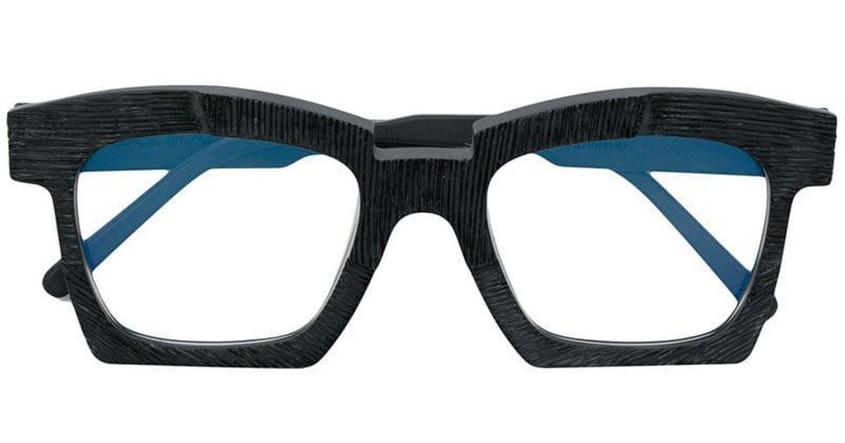 fa2a99631a9 Kuboraum K5 Glasses in Black for Men - Lyst