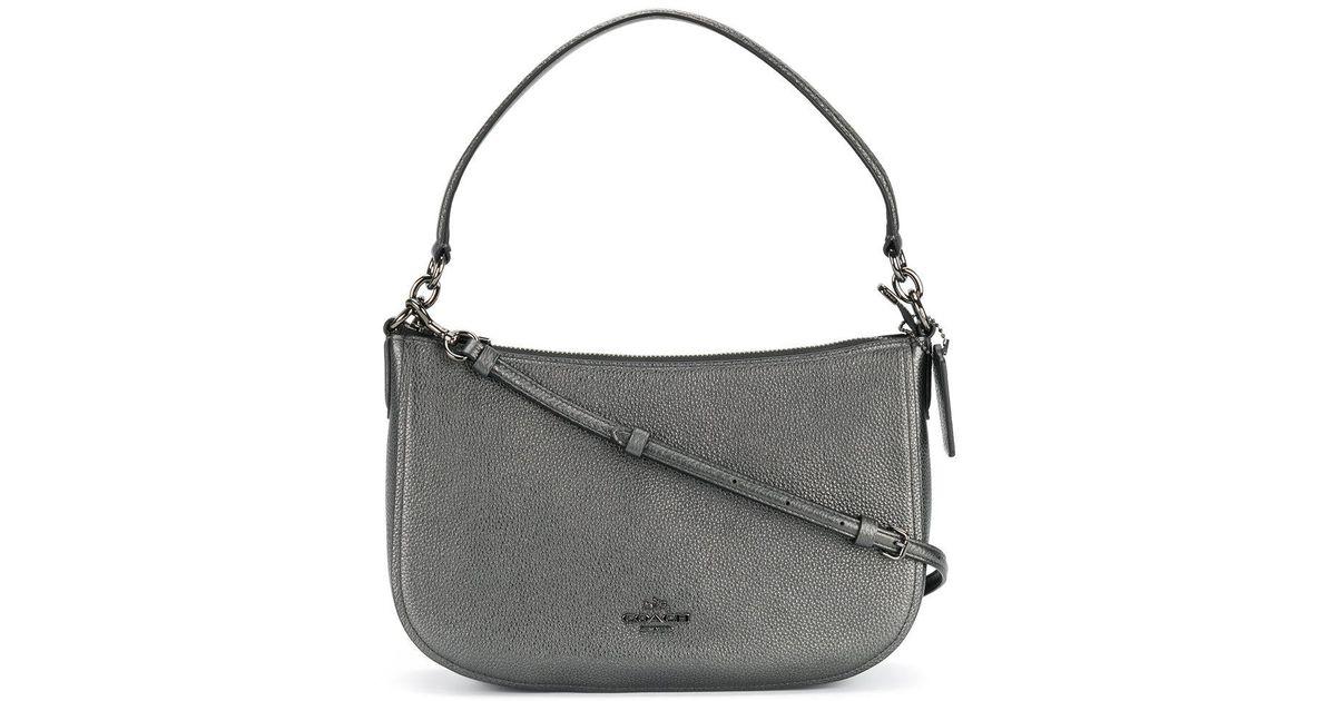 f7b99ac88 Lyst - COACH Chelsea Crossbody Bag in Metallic