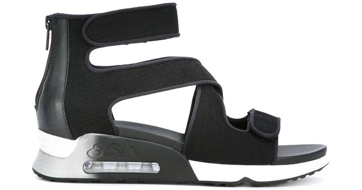 3676b9869f2a Lyst - Ash  lips  Sandals in Black