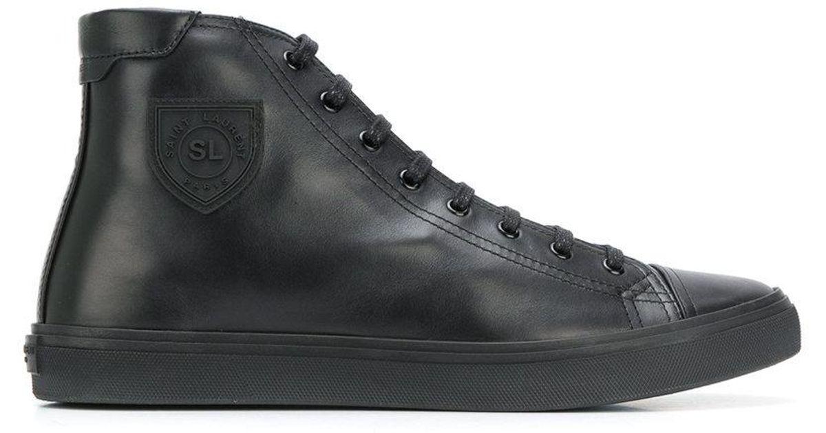 Black Laurent 'bedford' Lyst Sneakers Saint For Men QrdtsCxBh