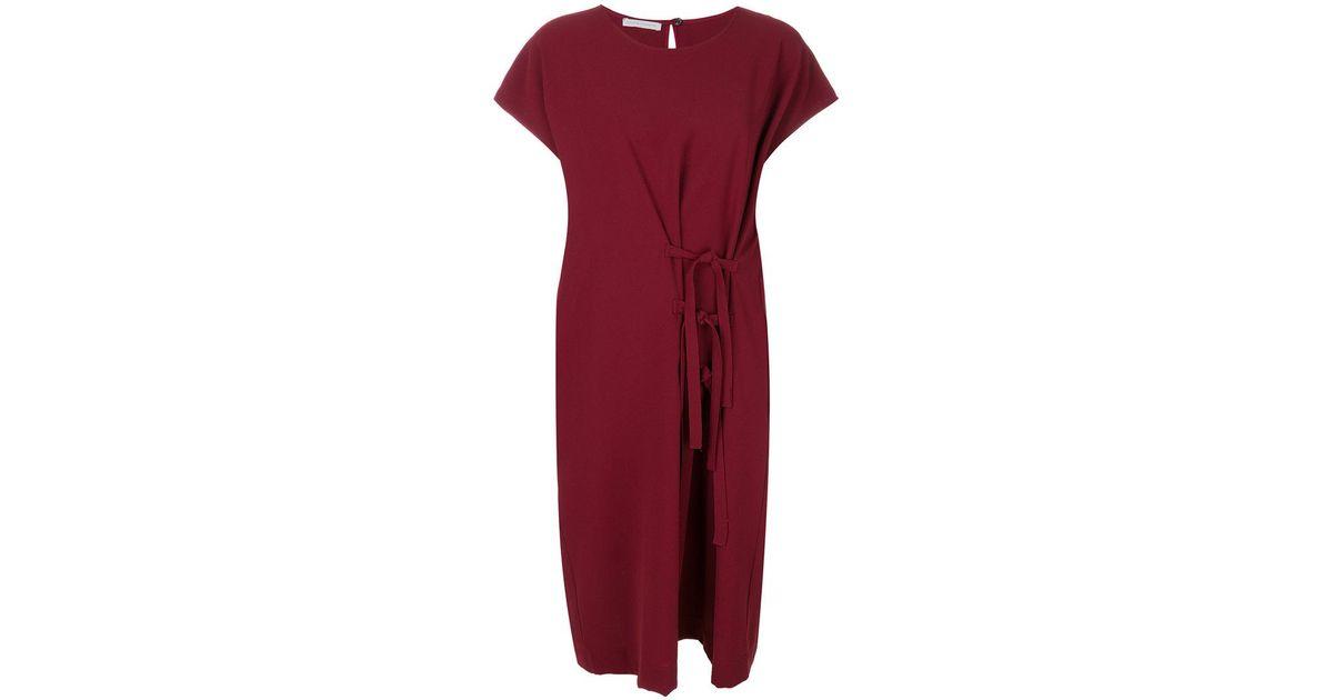 Big Shoulders dress - Red Soci h3klXAi7b