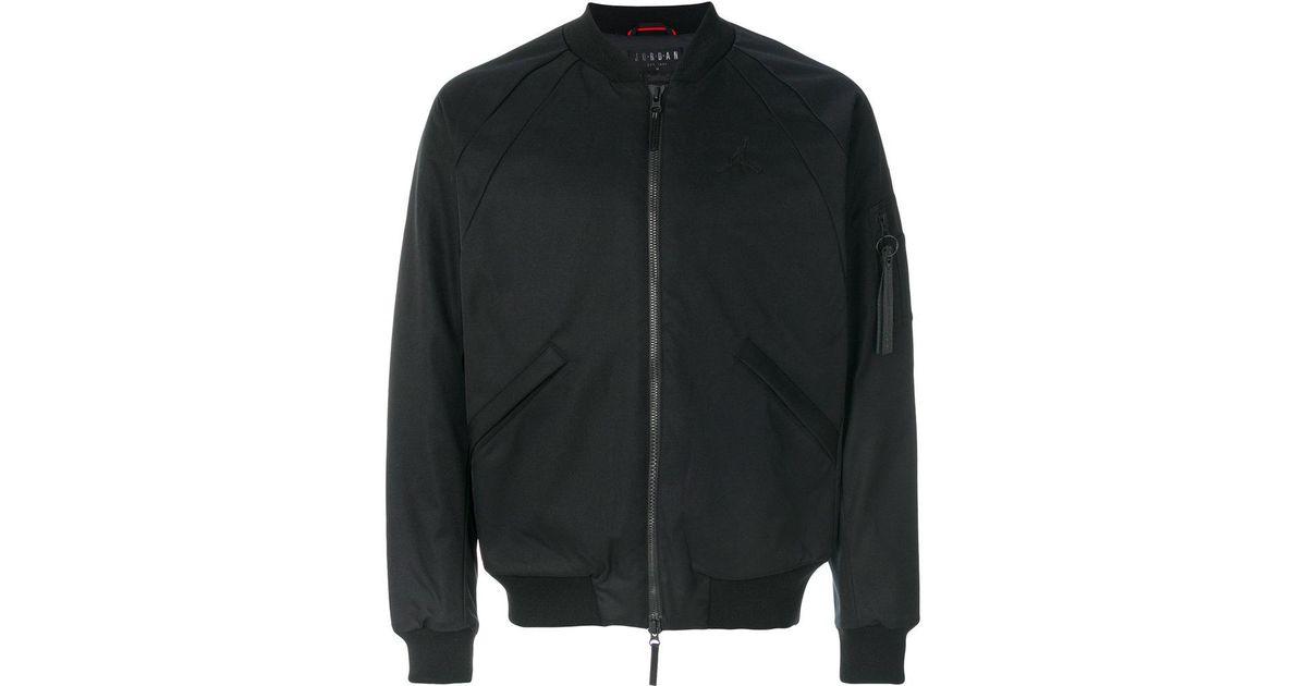57586f1545d6 Lyst - Nike Jordan Lifestyle Wings Ma-1 Jacket in Black for Men