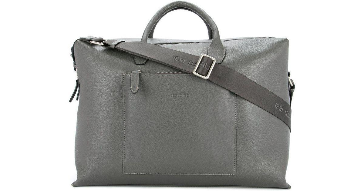 d9c8d828d5 Cerruti 1881 Large Holdall Tote Bag in Gray for Men - Lyst