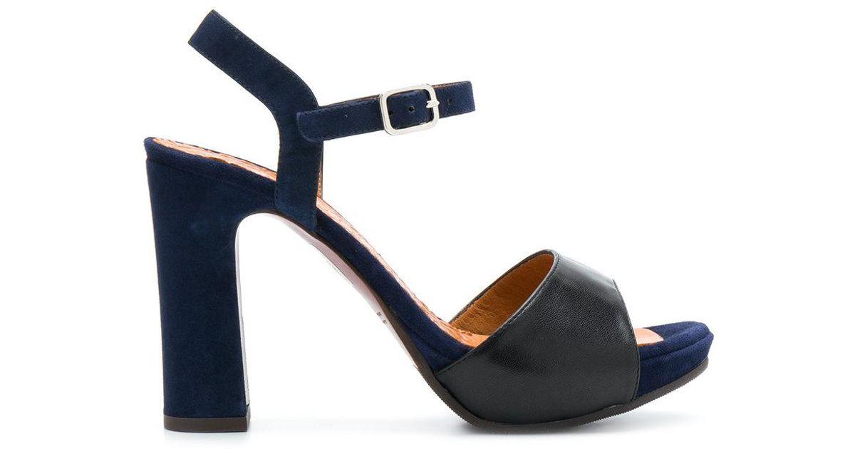 open toe heeled sandals - Metallic Chie Mihara G8umvTA
