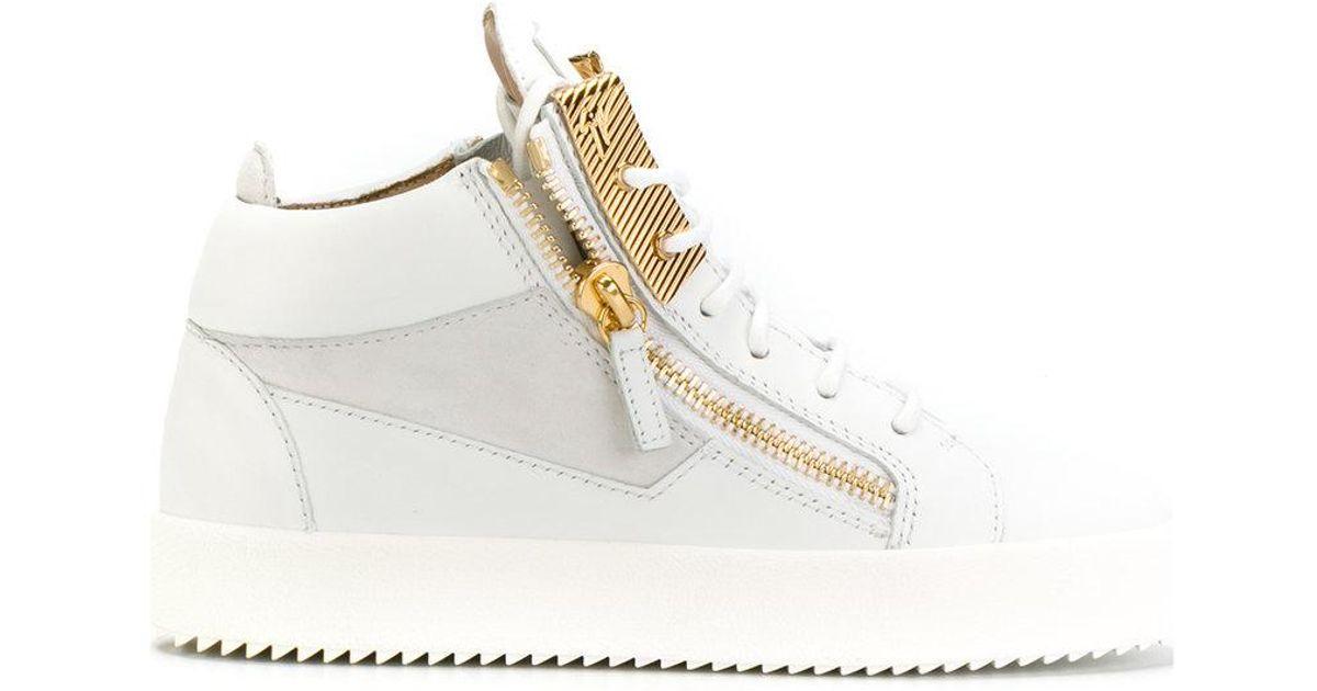 Kriss hi-top sneakers - White Giuseppe Zanotti YfiBJHCY
