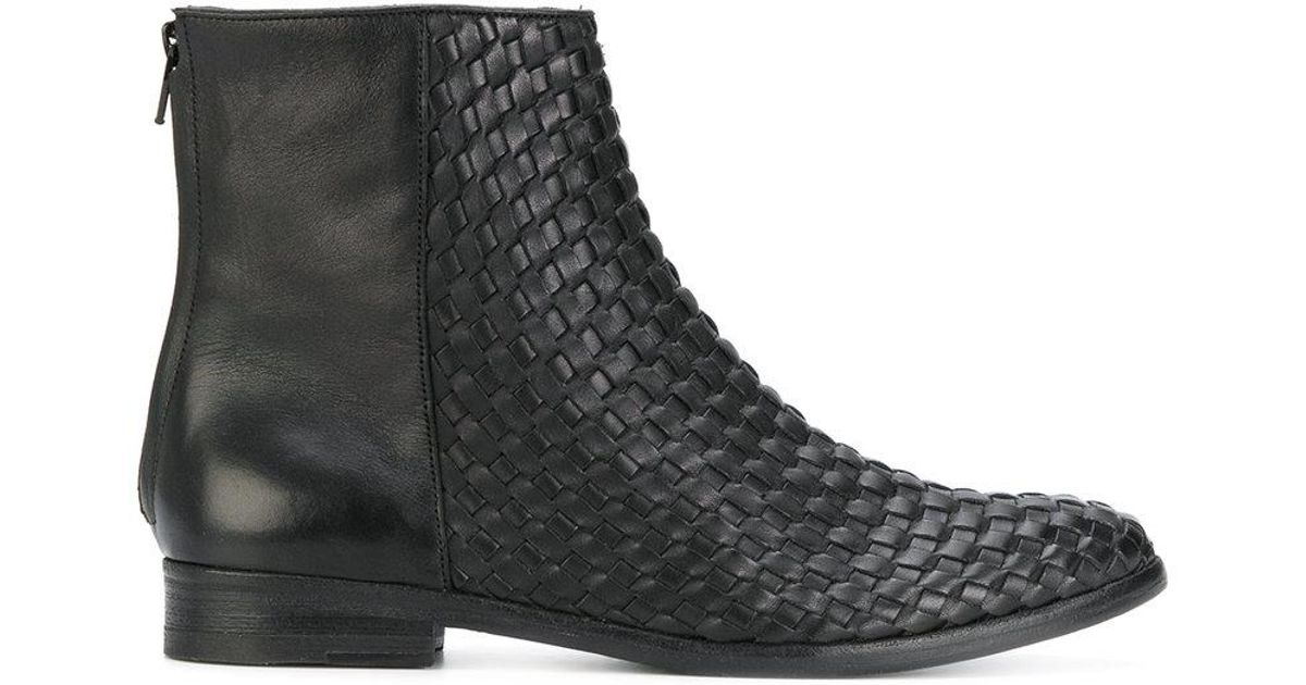 The Last Conspiracy woven ankle boots cheap affordable 7wmOKuK