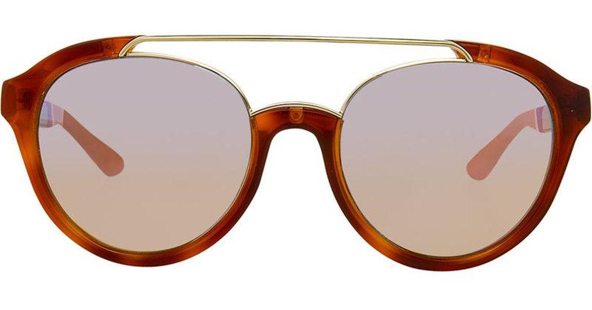 ada835cd15 Linda Farrow Orlebar Brown 42 C3 Sunglasses in Brown for Men - Lyst