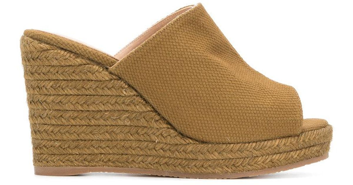 Castaner Woven platform wedge sandals Free Shipping Low Cost Fake n0bGRS1SL