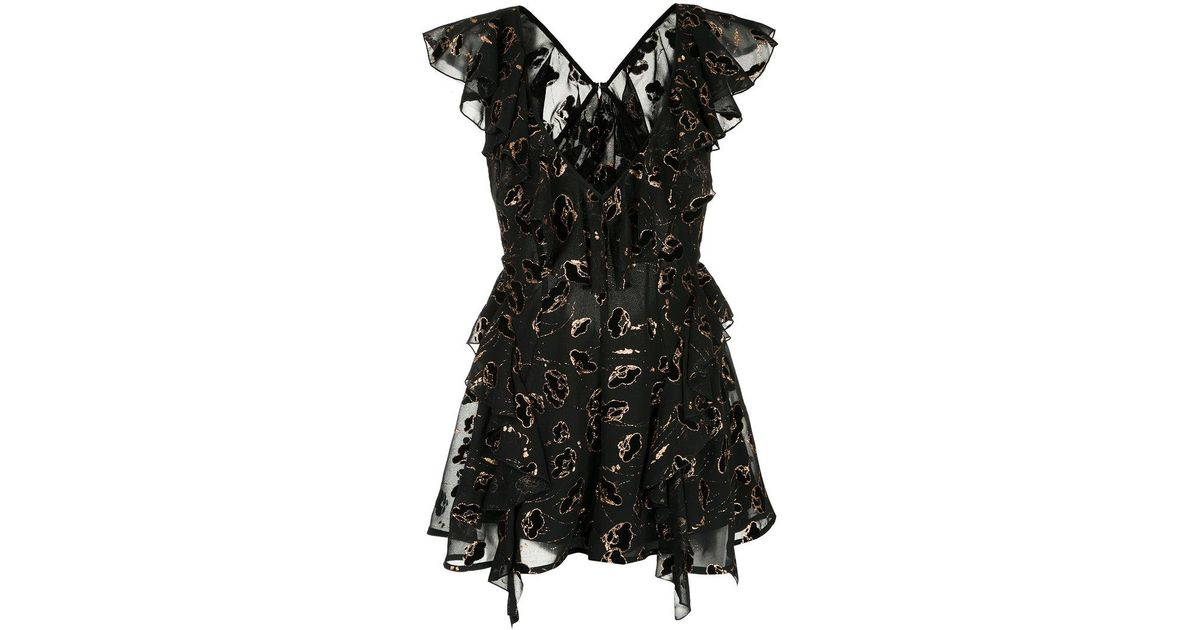 c62c69638e Lyst - Alice McCALL Dream On Playsuit in Black