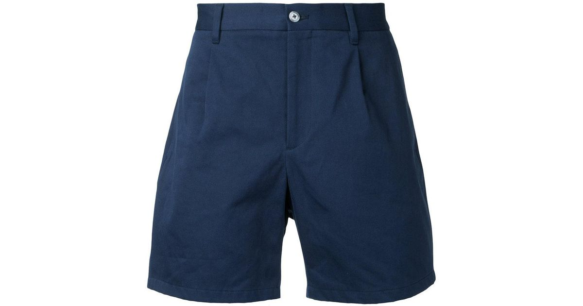 short length chino shorts - Blue Kent & Curwen ZbPKR