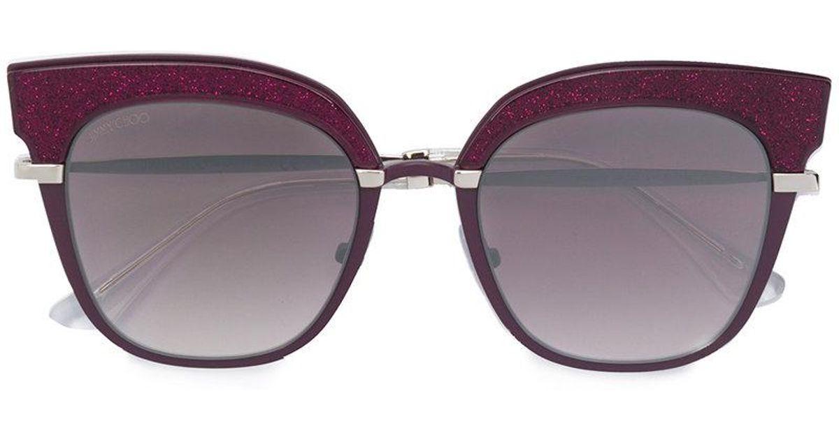 Rosy sunglasses - Pink & Purple Jimmy Choo Eyewear HTAacqt3lG