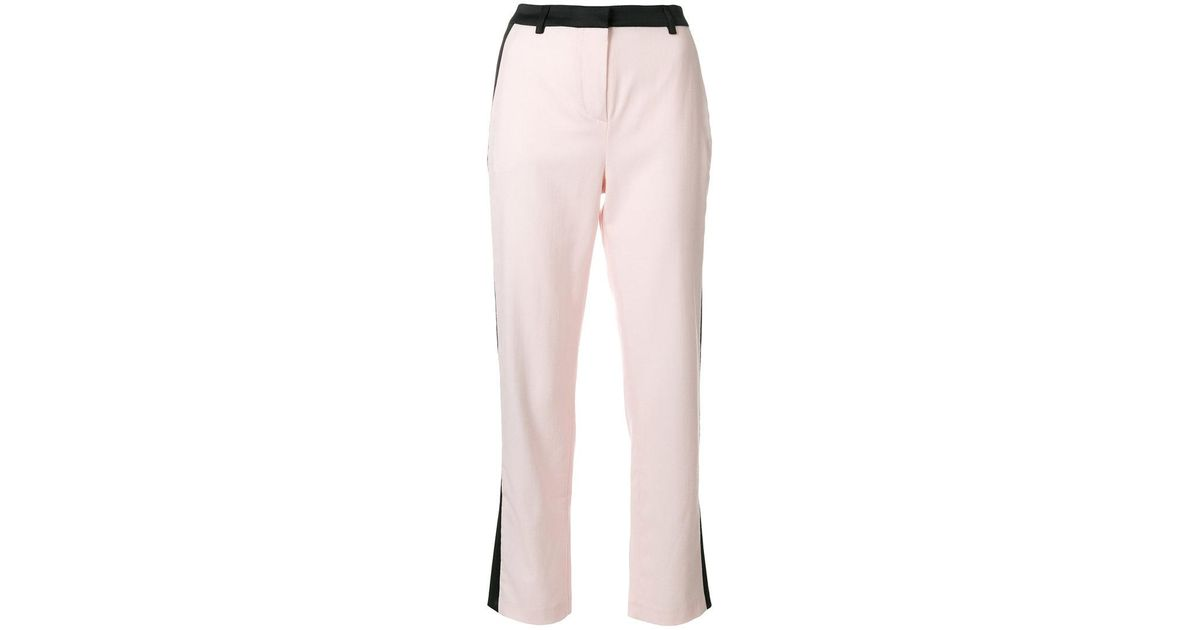 Summer Tuxedo trousers - Pink & Purple Karl Lagerfeld 2fwDAnvb4
