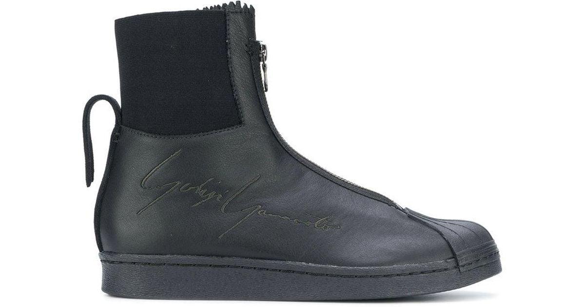 free shipping Cheapest 100% original online Yohji Yamamoto embossed zipped sneakers amazon cheap online release dates sale online discount shop TFNO3PZ