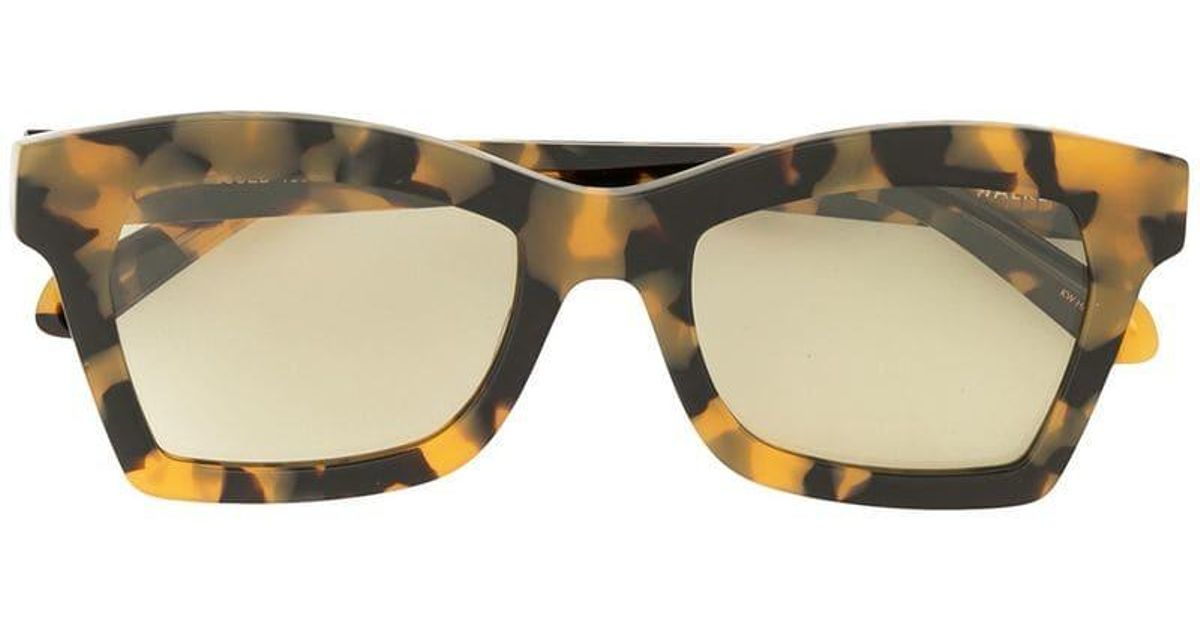 b28dc91a2a Karen Walker Blessed Square-frame Sunglasses in Brown - Lyst