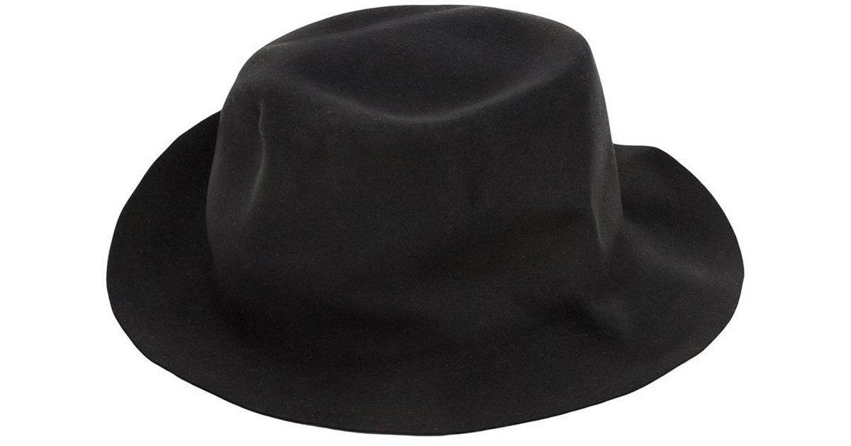 Lyst - Horisaki Design   Handel Fedora Hat in Black for Men e26039041a7b