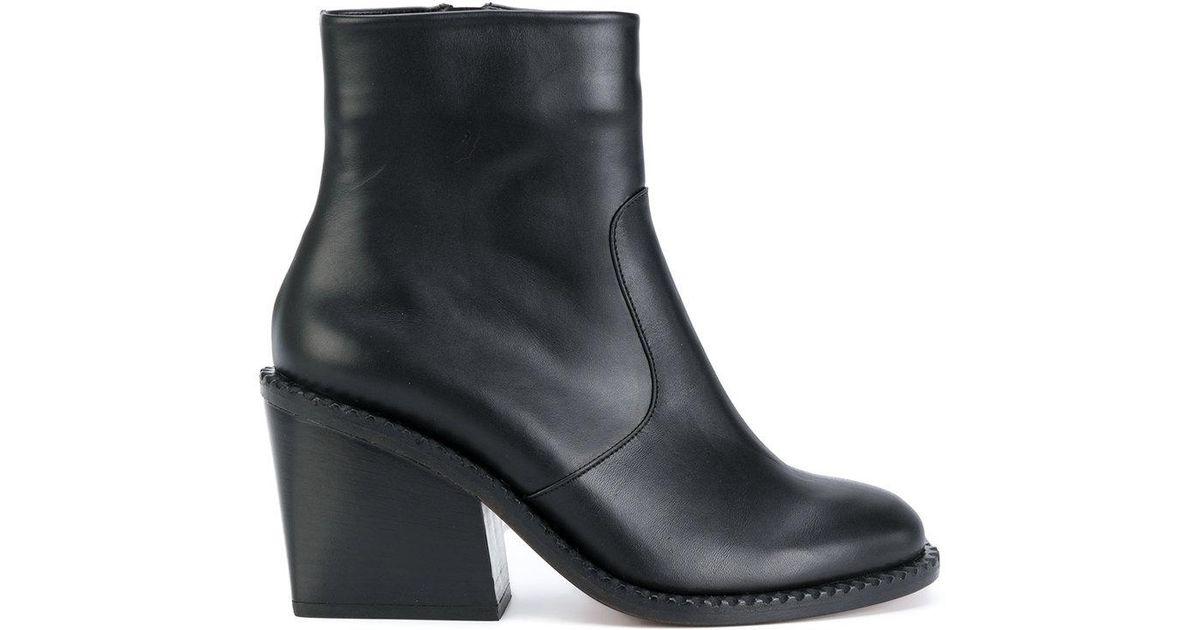 Mayan ankle boots - Black Robert Clergerie akjOE5u