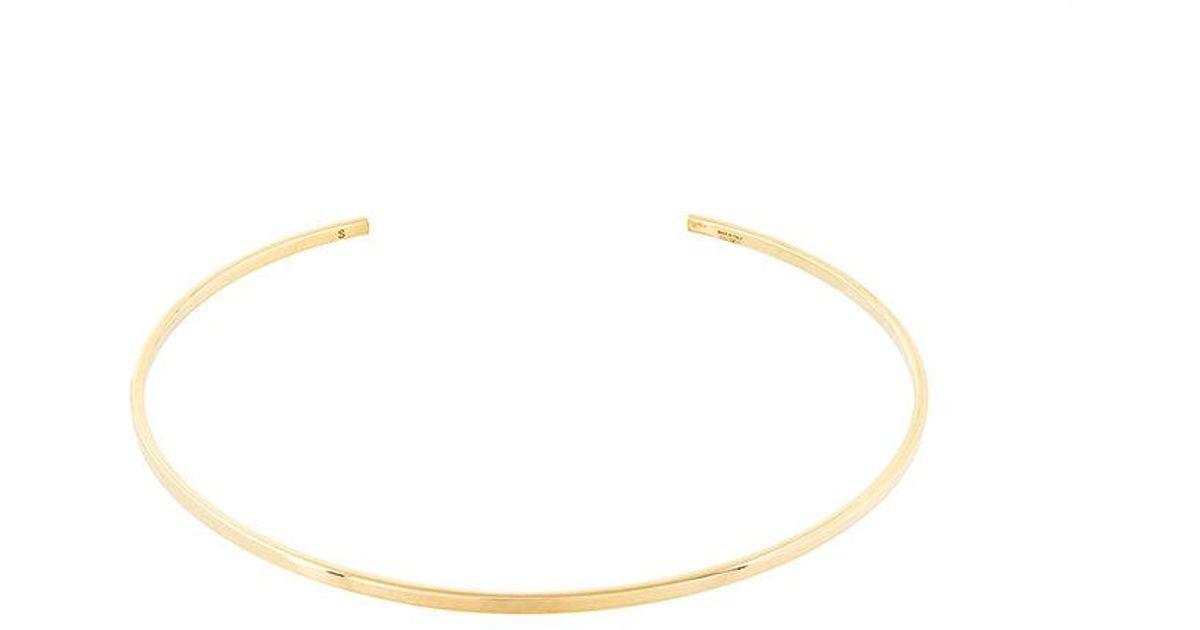 I.V.I. Elhia flat choker necklace - Metallic rmFccFDRv