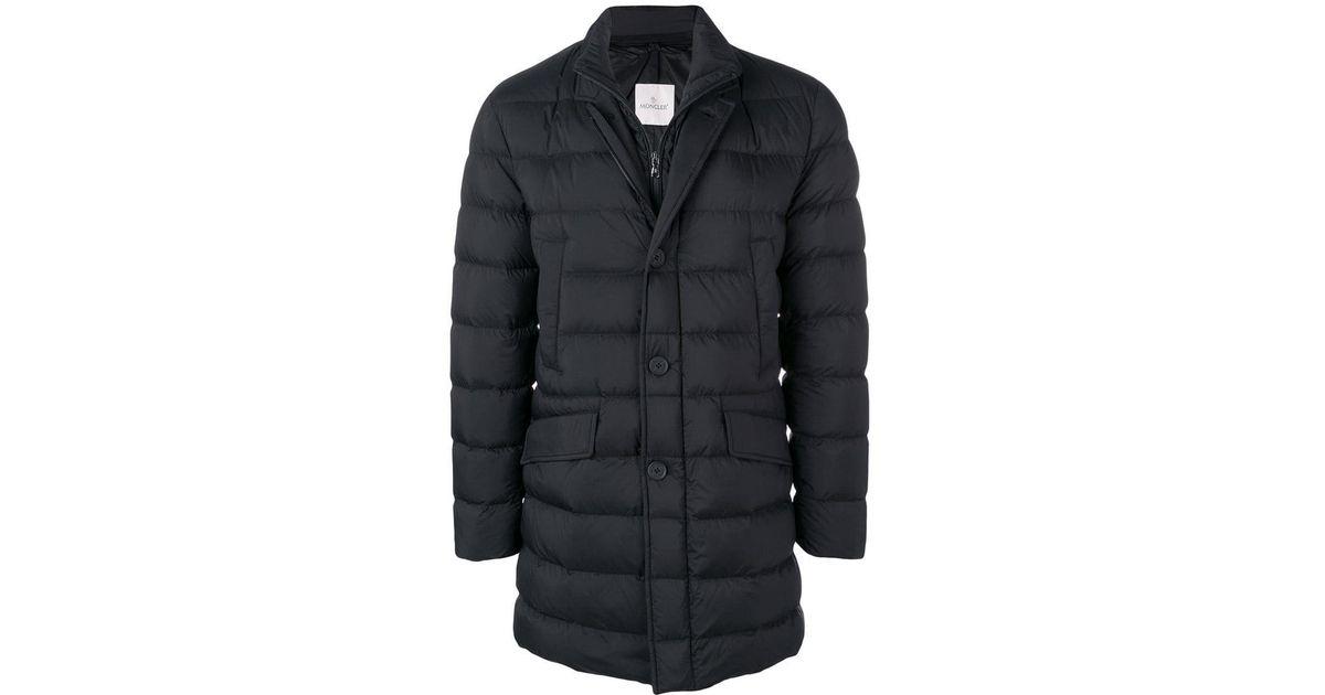 5ba16b147 Lyst - Moncler Keid Padded Coat in Black for Men