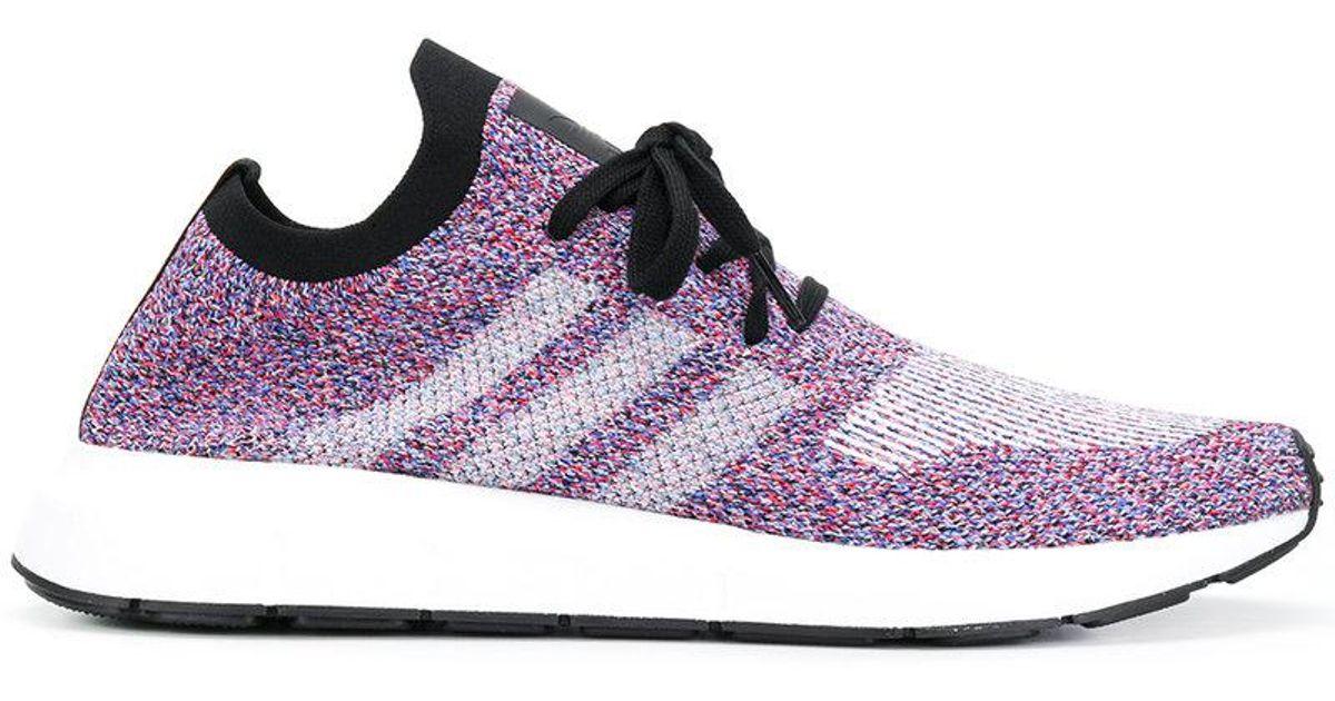 57ef804dcf52 Lyst - Adidas Swift Run Primeknit Sneakers in Purple for Men