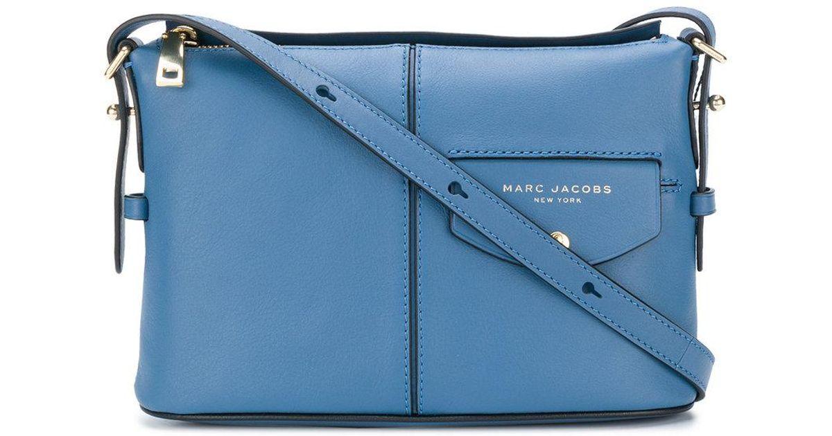627579d7638c Lyst - Marc Jacobs The Vintage Side Sling Bag in Blue