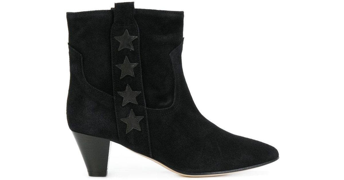 MARC ELLIS Heeled leather boots Fs7L7Fgp81