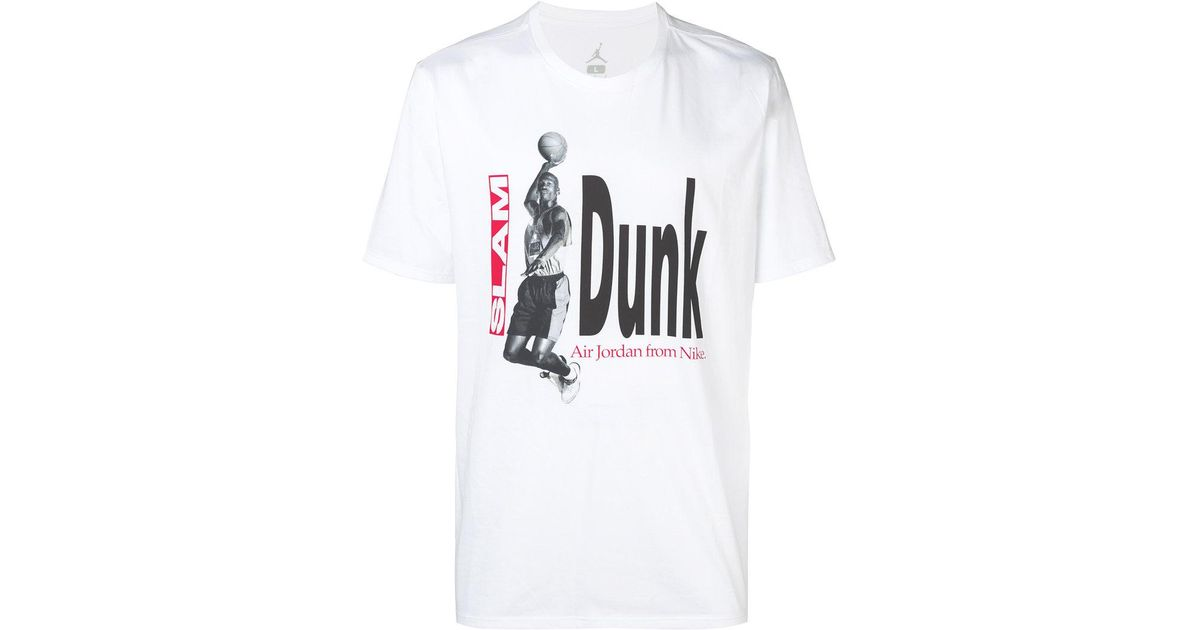 7577afb0 Lyst - Nike Jordan Air Photo Basketball T-shirt in White for Men
