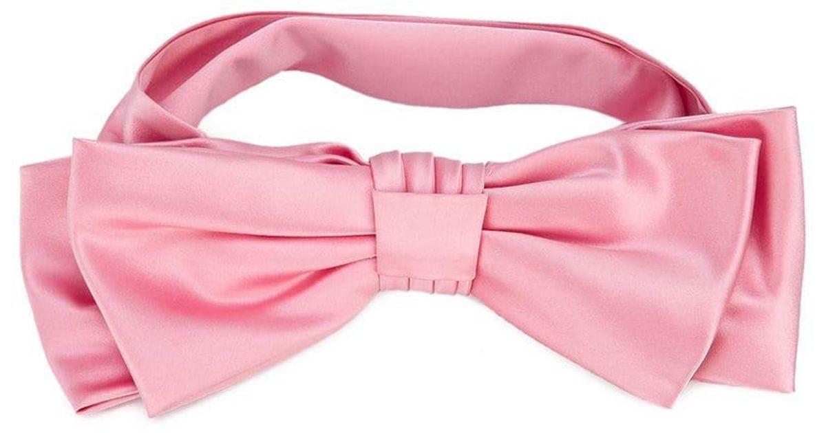 f2572506309 Lyst - Gucci Bow Headband in Pink