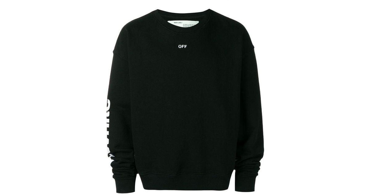 d274290e Lyst - Off-White c/o Virgil Abloh Multi Print Sweatshirt in Black for Men