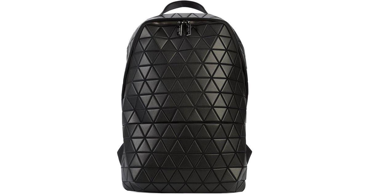 Lyst - Bao Bao Issey Miyake Prism Jet Backpack in Black for Men 40d17b77aba07
