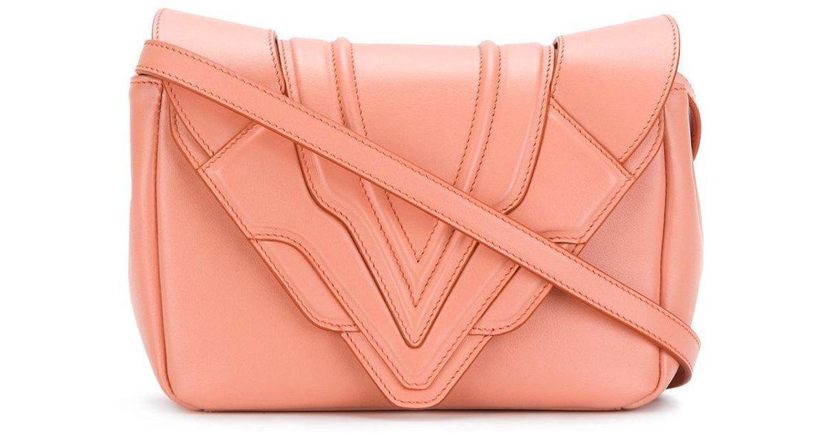panelled flap handbag - Pink & Purple Elena Ghisellini 978TA7