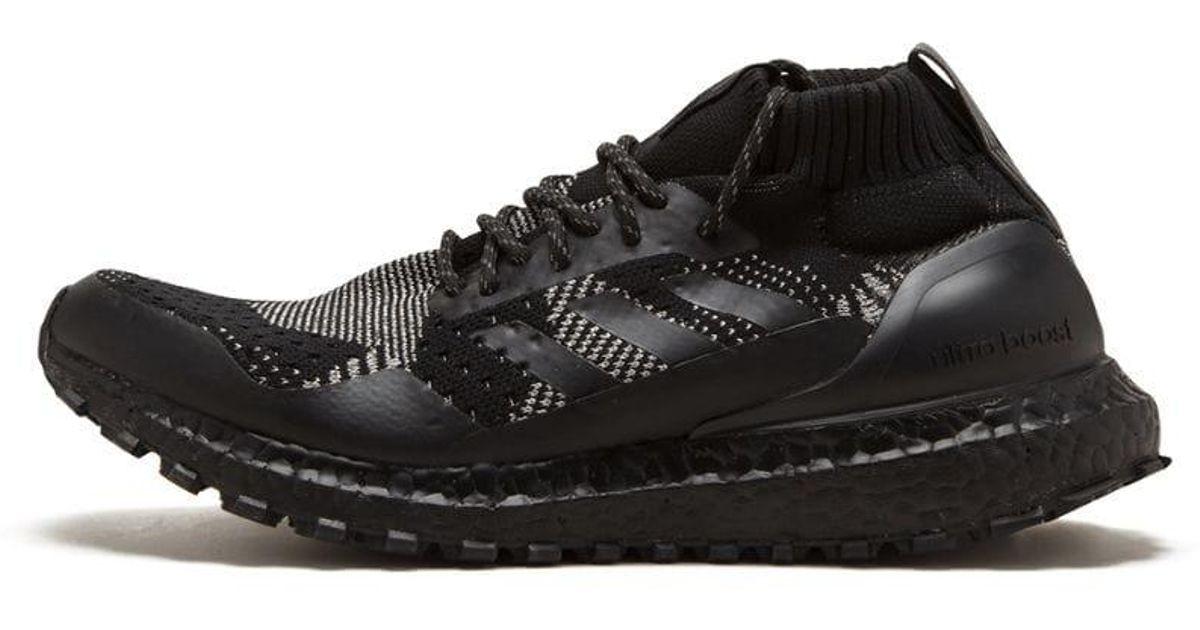 107f2c3b adidas Kith X Nonnative X Ultraboost Mid Sneakers in Black for Men - Lyst