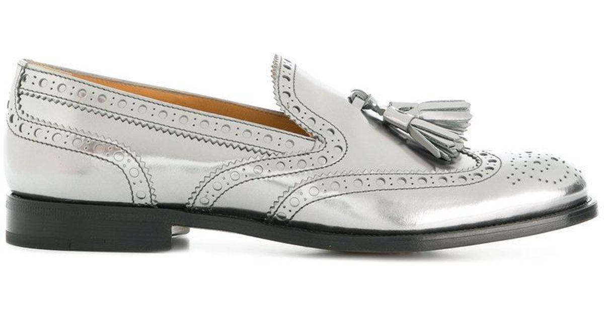 Church's Tamaryn metallic loafers free shipping cheap online ebay LlAFS