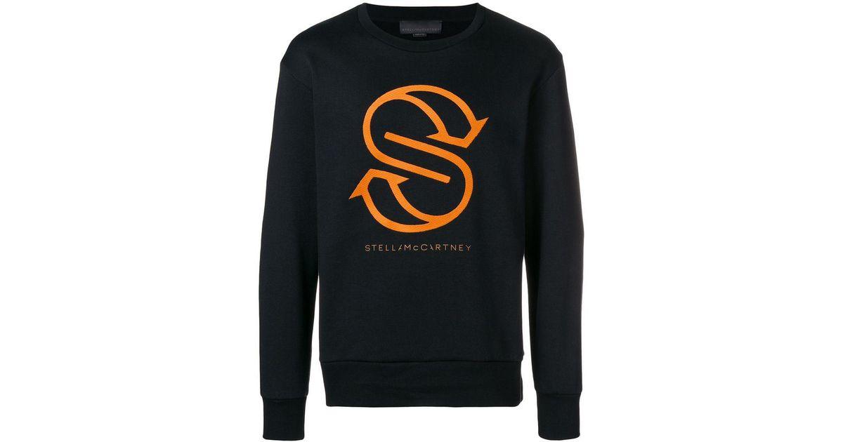 Mccartney S Motif Sweatshirt Noir Stella x1xvq6a