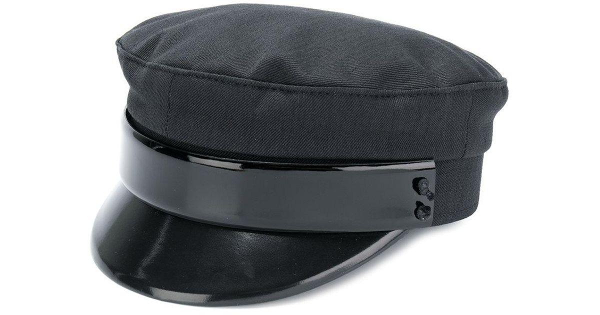 Ruslan Baginskiy Captain Hat in Black - Lyst c47791378ef