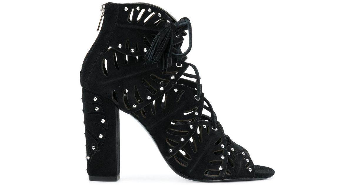 Ash Lilia cutout lace up sandals discount fast delivery cheap sale new 0fAdiNc
