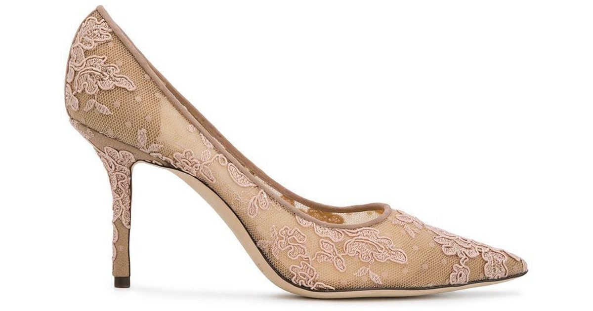 Lyst - Jimmy Choo Love 85 Pumps in Pink - Save 12.848484848484844% 0c83120451e