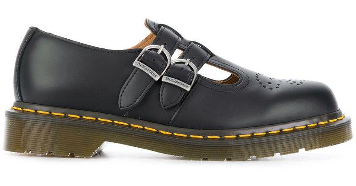 4afea9898e0d6 Comme des Garçons Dr. Martens Double Strap Brogues in Black for Men - Lyst