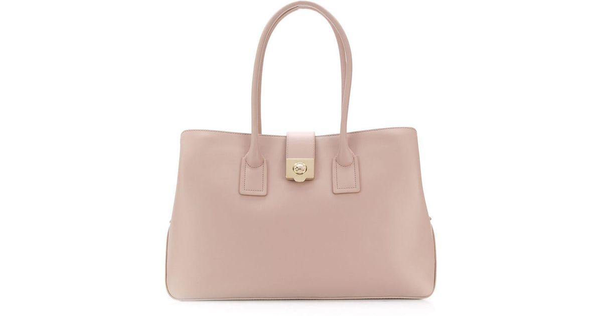 ce5bbbd883 Lyst - Furla Mira Tote Bag in Pink