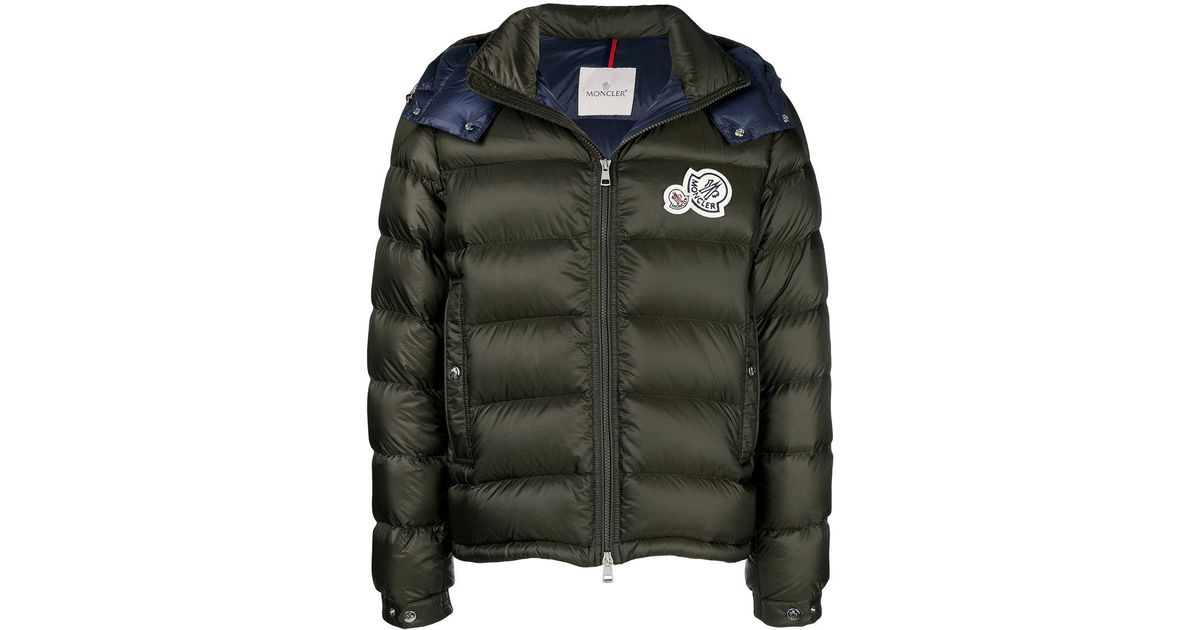 b0bf3c1d8 Lyst - Moncler Bramant Padded Jacket in Green for Men