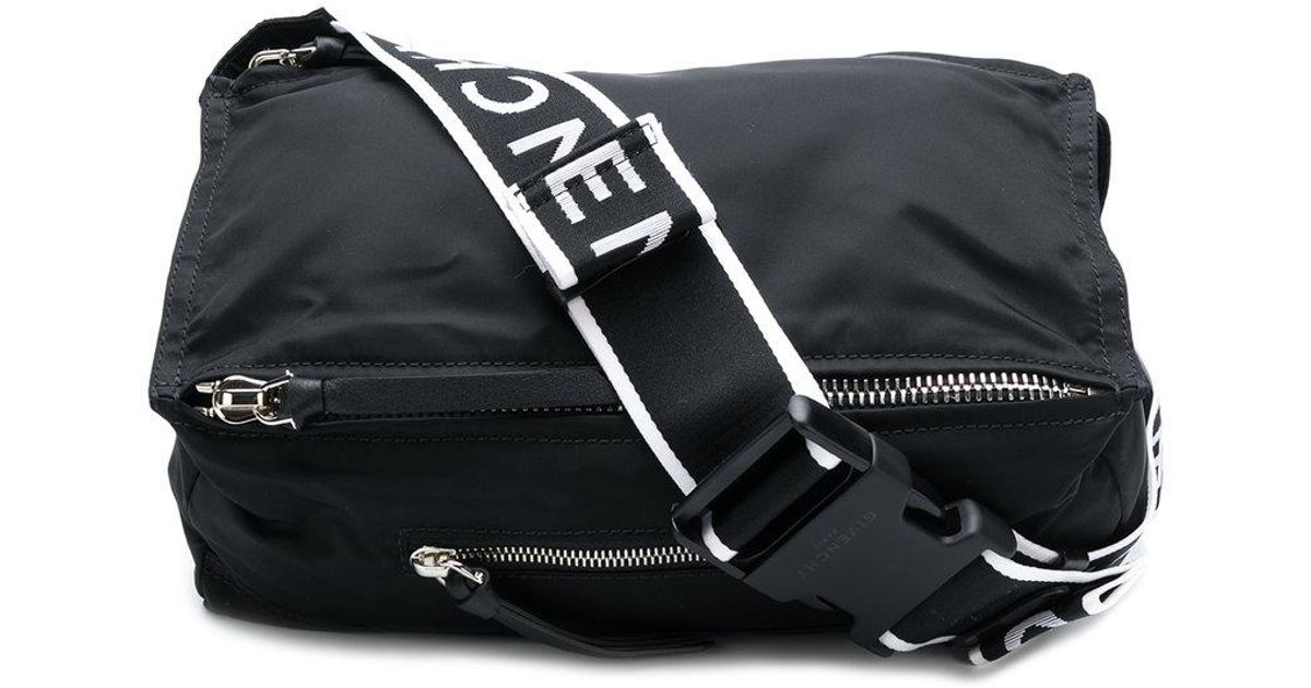 Lyst - Givenchy Pandora Messenger Belt Bag in Black for Men 0460949031fe7
