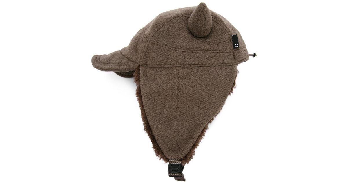 16151725f9c Undercover Evil Horn Hat in Brown for Men - Lyst