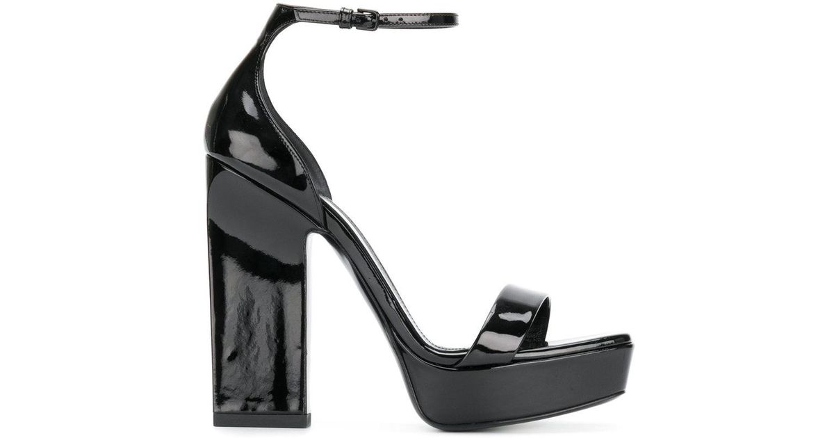 Saint LaurentAmber 105 platform sandals