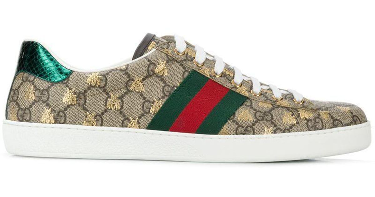 58d755a55 Gucci Ace GG Supreme Sneakers for Men - Lyst