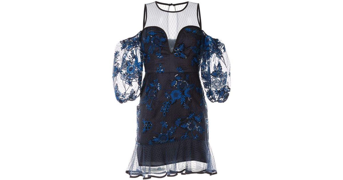 9f53f611a69 Alice McCALL Sweet Little Mystery Mini Dress in Black - Lyst