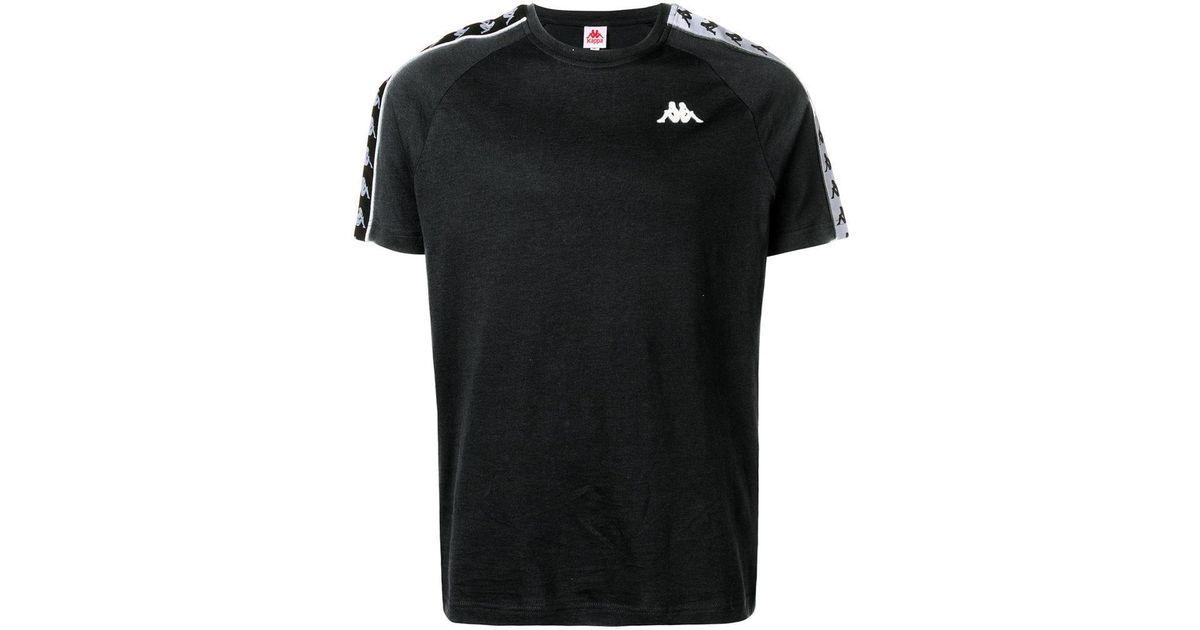 97108279bc Lyst - Kappa Logo Tape T-shirt in Black for Men