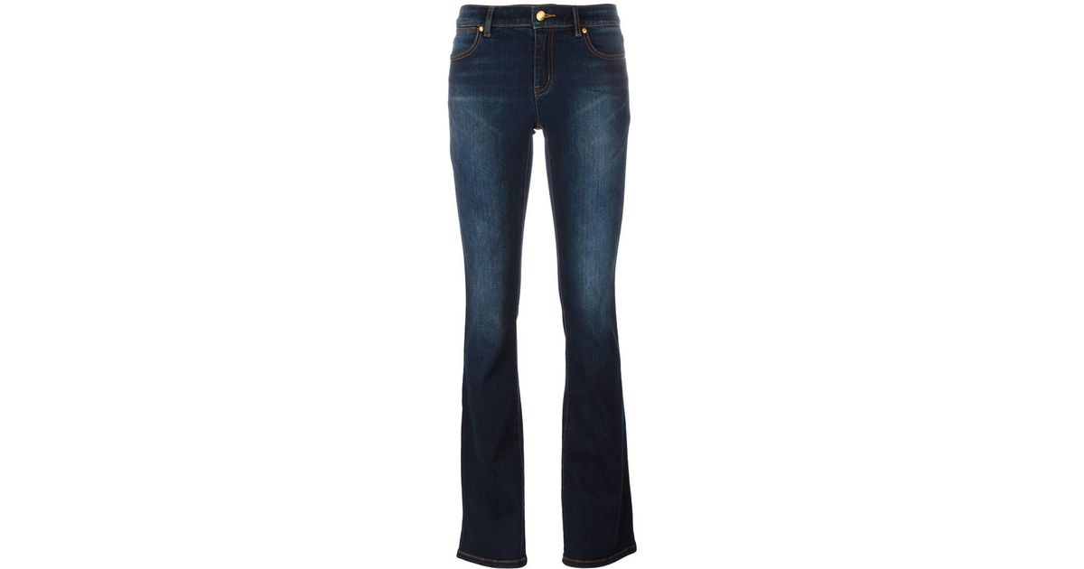 86cdf41cf3fc83 MICHAEL Michael Kors 'izzy' Bootcut Jeans in Blue - Lyst