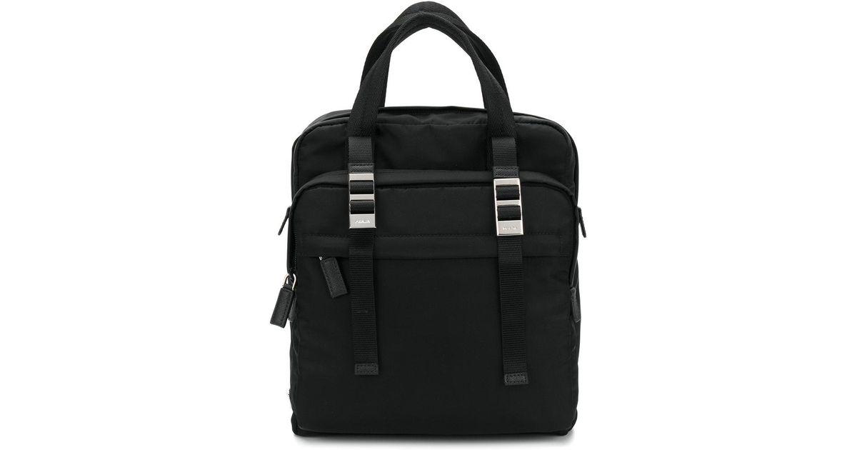 c5ff8a4a6ea4 Lyst - Prada Zaino Backpack in Black for Men